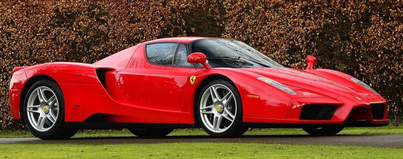 На аукціоні продають Ferrari Міхаеля Шумахера