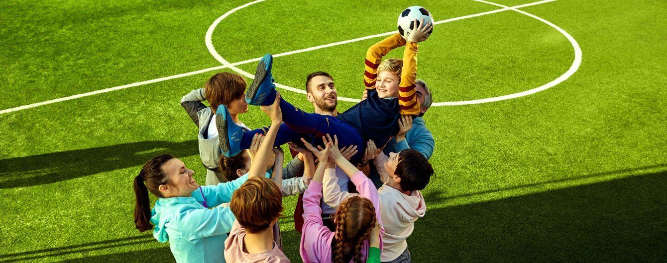 Mastercard оновлює футбольні майданчики в містах України