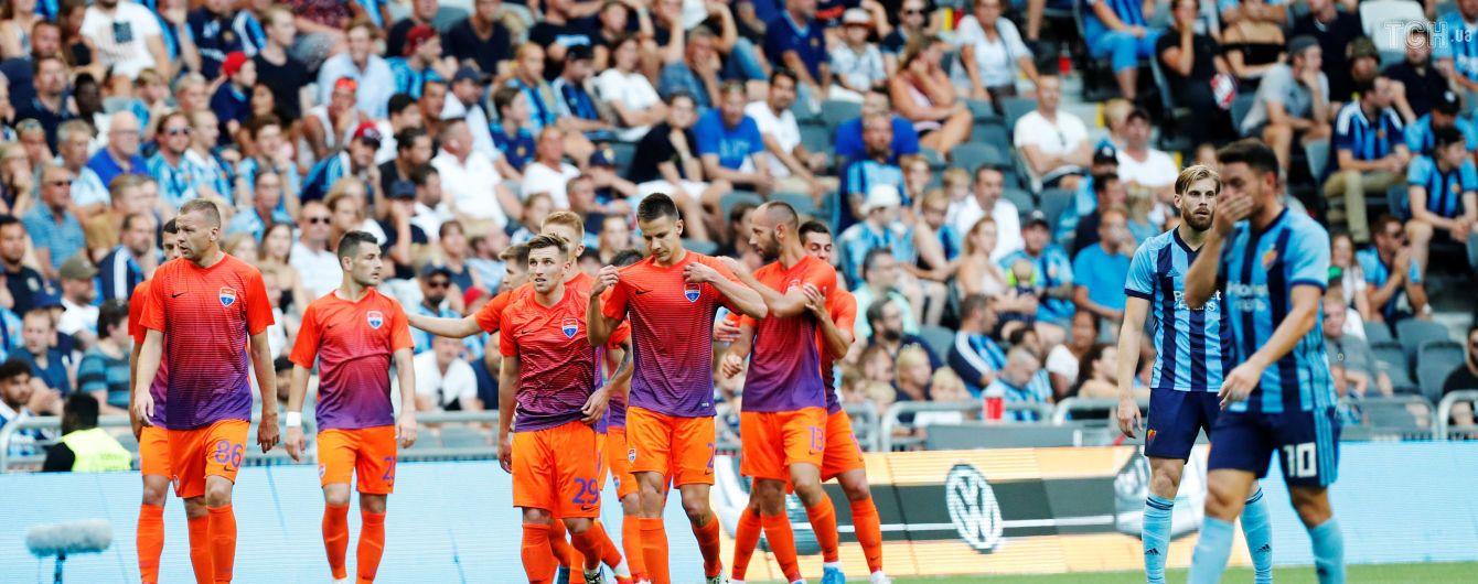 """""""Мариуполь"""" в овертайме победил """"Юргорден"""" и вышел в следующий раунд Лиги Европы"""
