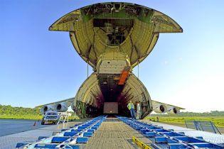 """Самолет-гигант """"Мрия"""" реализовал рекордный проект перевозки в Южной Америке"""