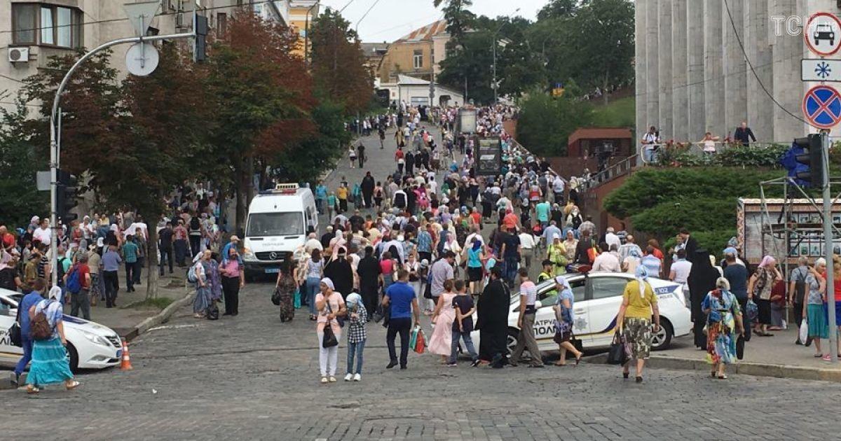 Віряни вирушили на Володимирську гірку