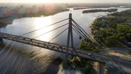 В Киеве уже завтра частично перекроют Северный мост