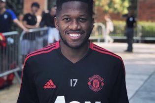 """Фред провів перше тренування в """"Манчестер Юнайтед"""""""