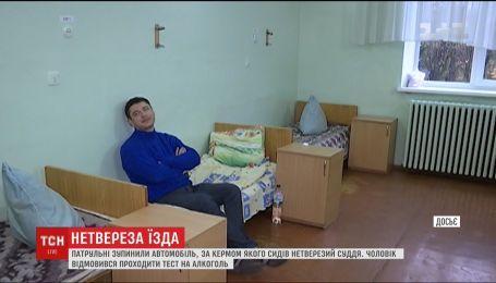 Черновецкие патрульные поймали за рулем нетрезвого судью