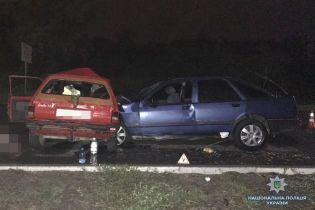 В Запорожье в смертельном ДТП погибли два человека, 5 травмированы