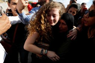 В Ізраїлі звільнили з в'язниці палестинку, яка відсиділа вісім місяців за ляпас солдату