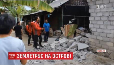 Більше десятка людей загинули від потужного землетрусу в Індонезії