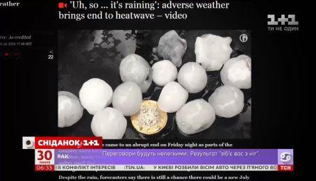 Июль побил 118 температурных рекордов во всем мире