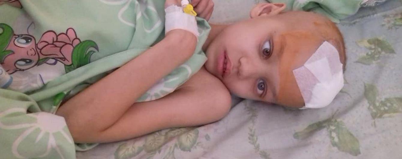 В немедленной помощи нуждается 6-летний Ваня