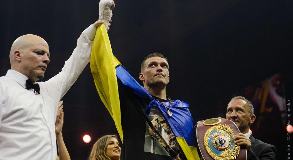 "Кличко пообещал провести защиту титула Усика на ""Олимпийском"""