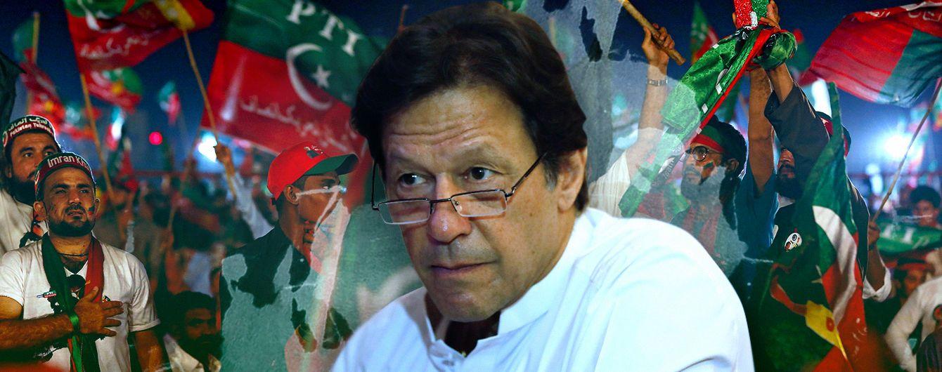 Пакистанский выбор: куда отобьёт мяч Имран Хан?