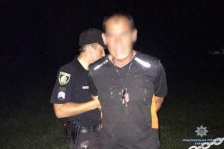 На Хмельнитчине с погоней и стрельбой копы задерживали пьяного водителя грузовика