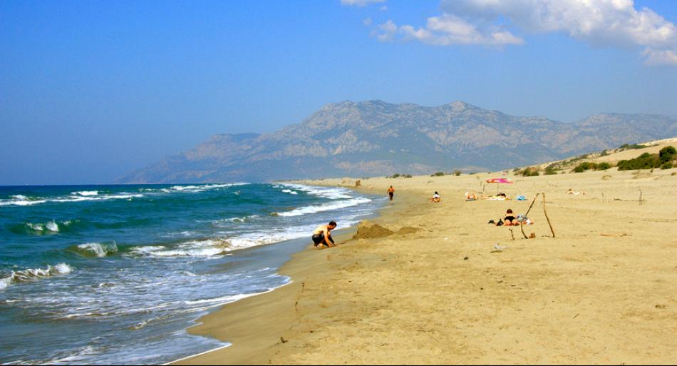 Пляж у Туреччині