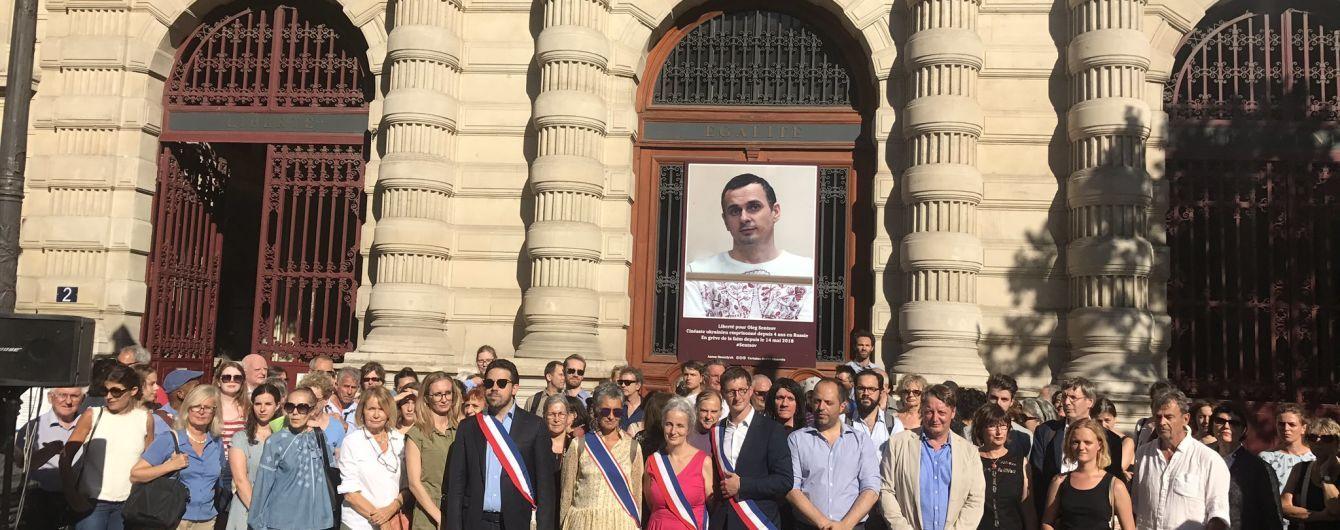Сенцова единогласно избрали почетным гражданином Парижа