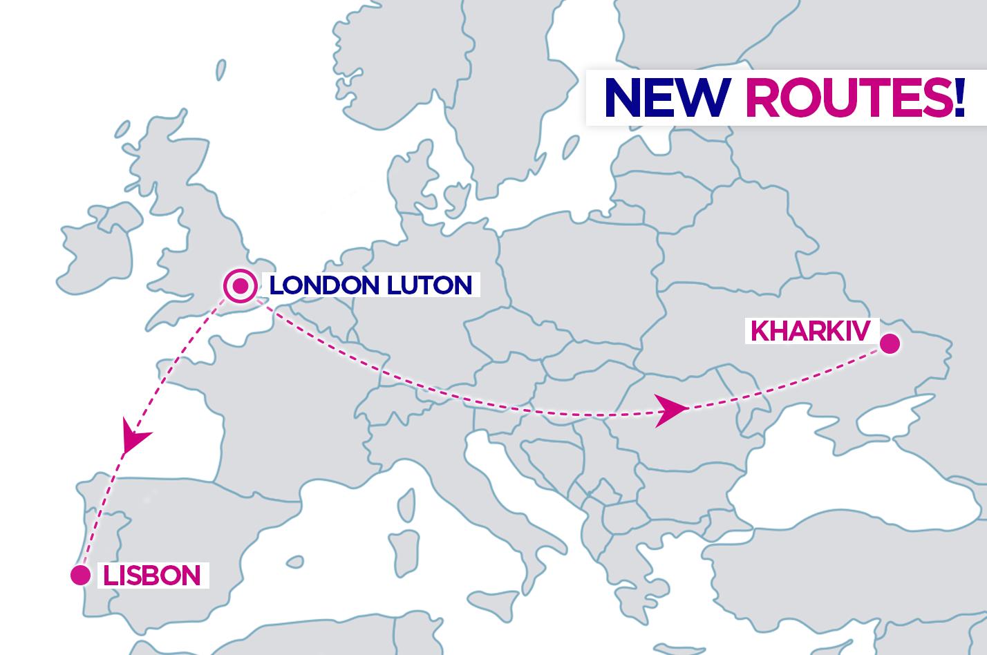 WizzAir Харків-Лондон