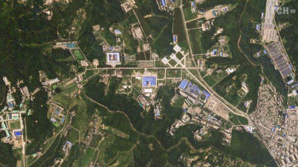 Виробництво ракет в КНДР, зображення із супунтина