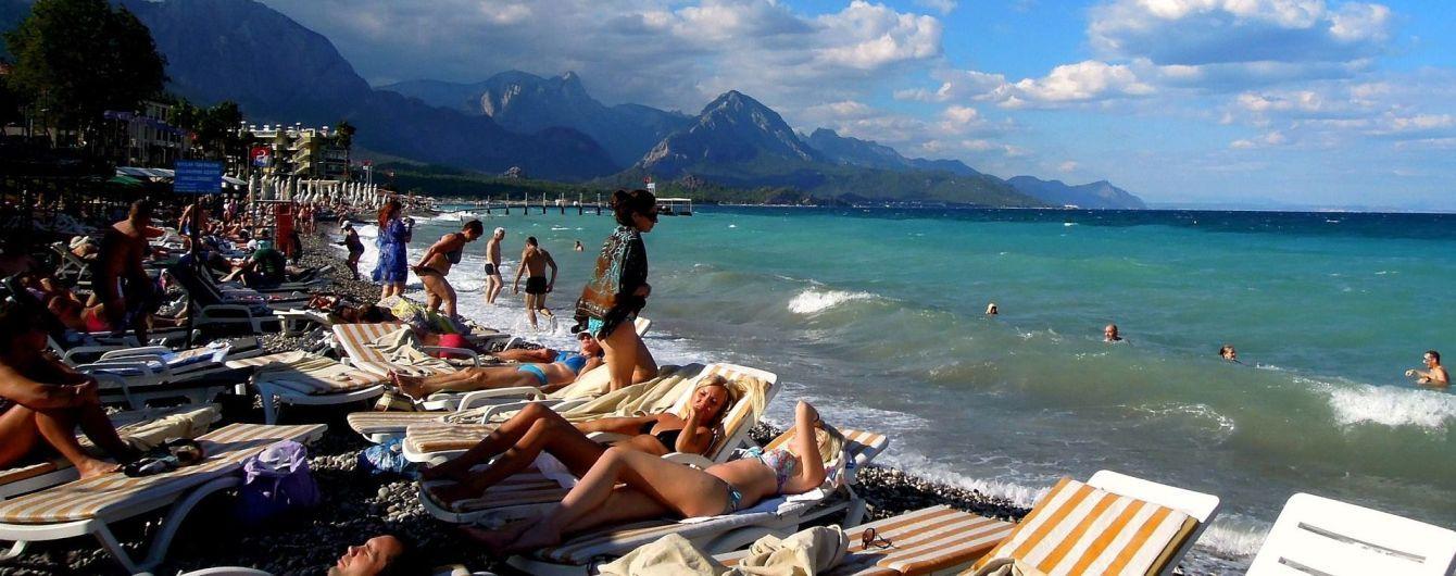 В Турции подсчитали количество отдыхающих из Украины