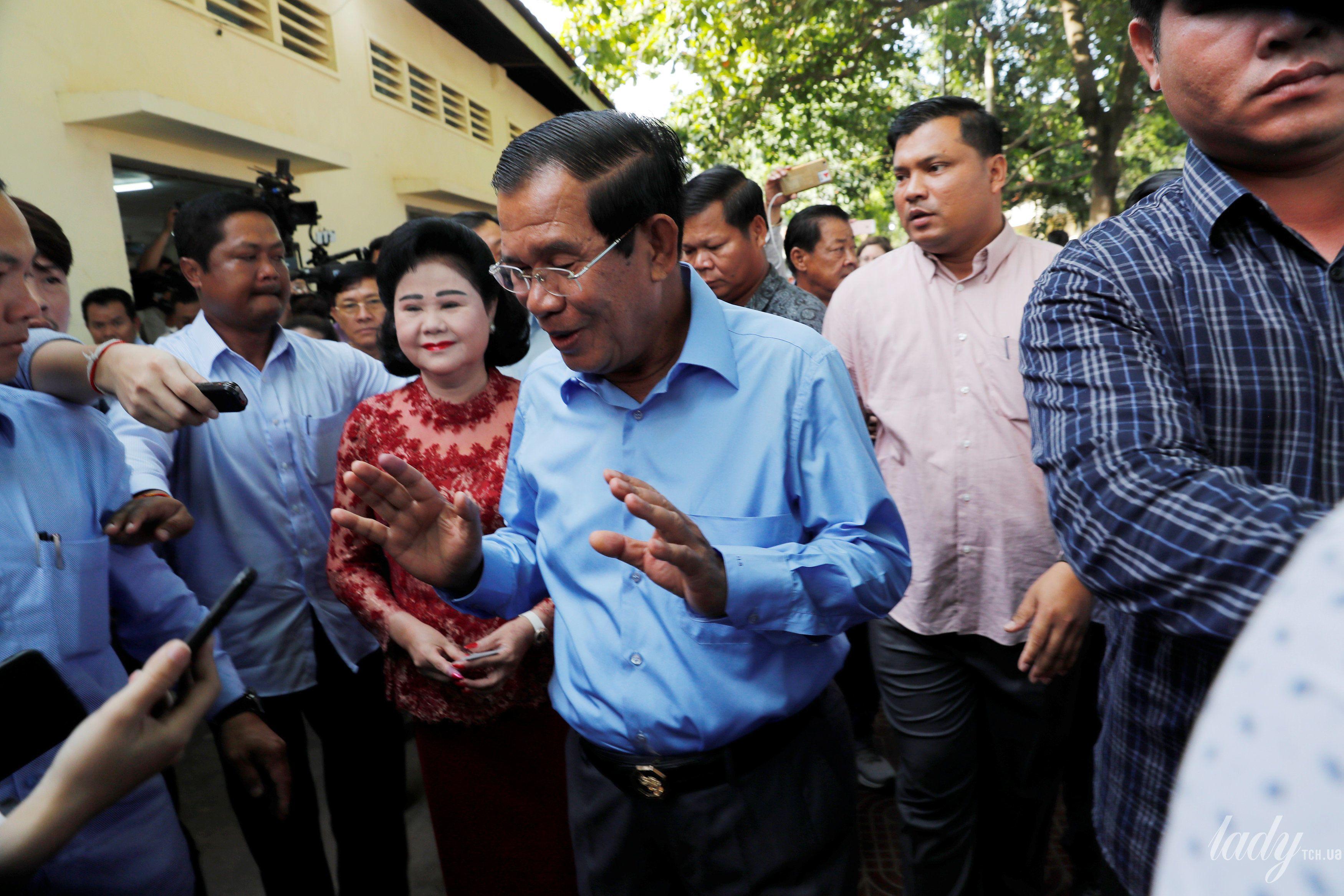 Жена премьер-министр Камбоджи Бун Рани_1