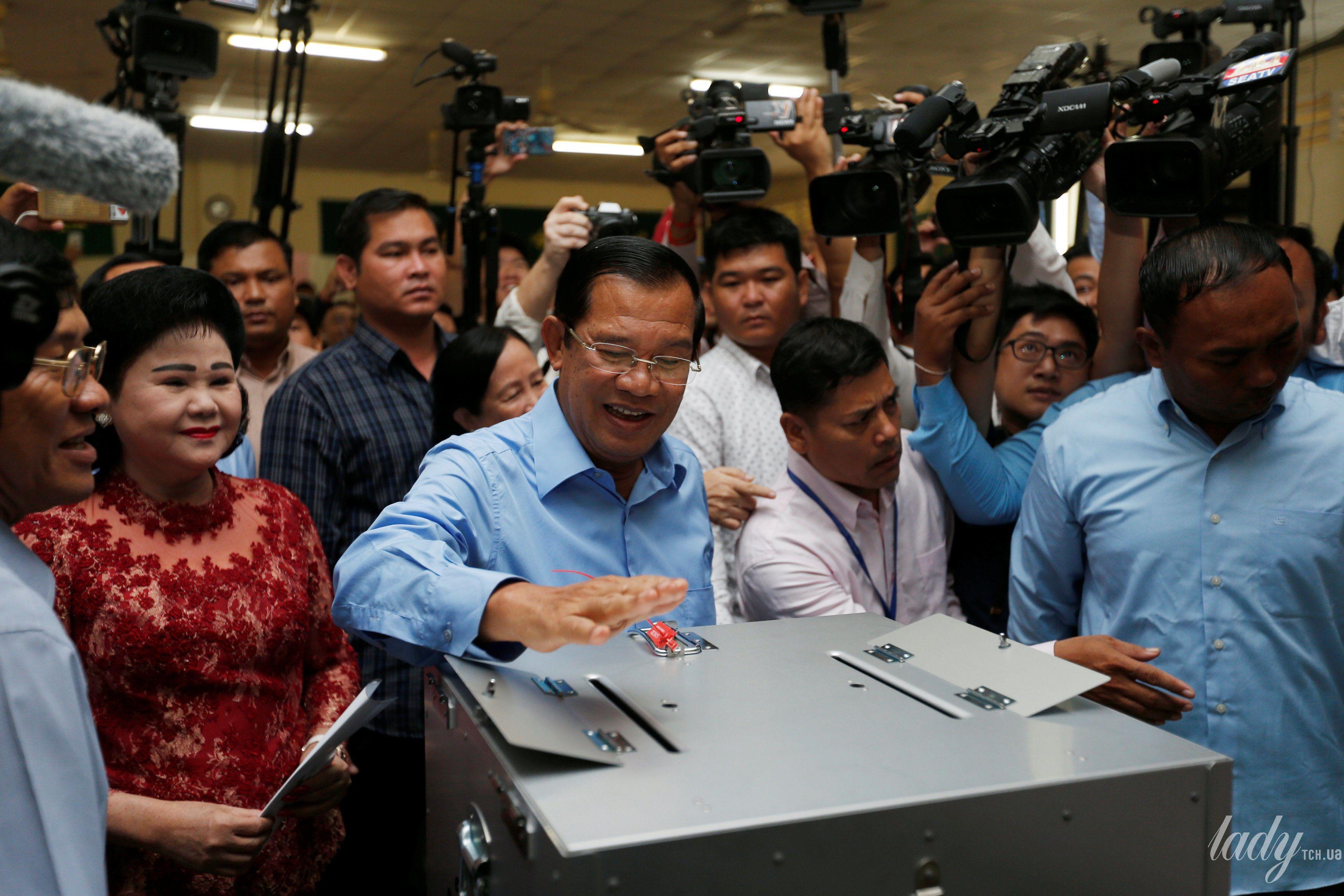 Жена премьер-министр Камбоджи Бун Рани_2