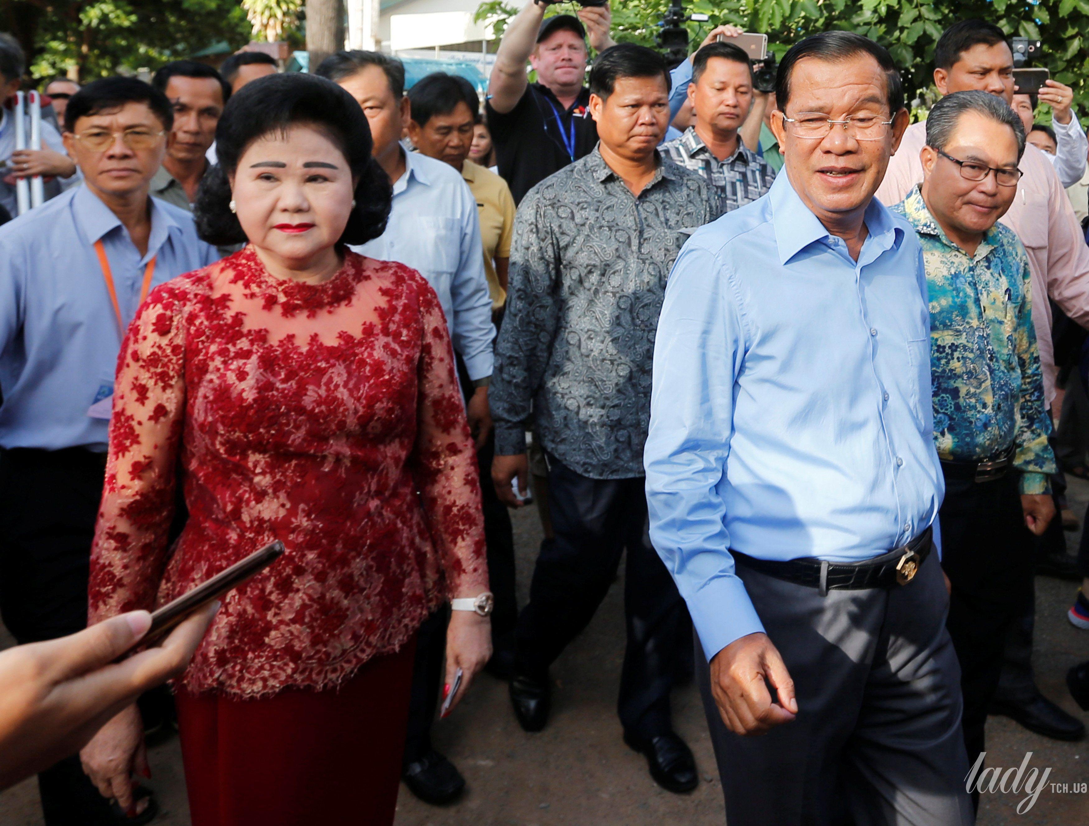 Жена премьер-министр Камбоджи Бун Рани_4