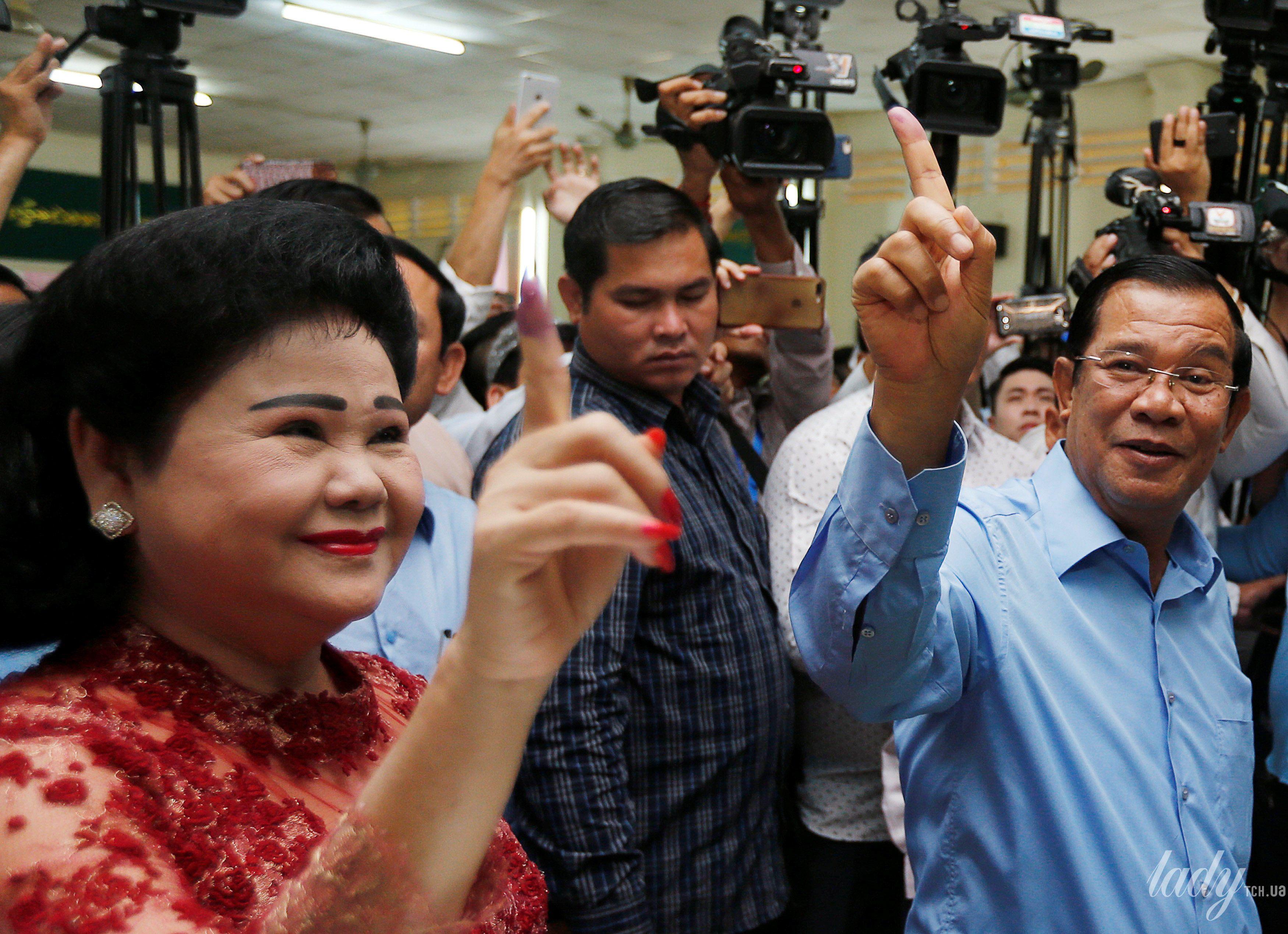 Жена премьер-министр Камбоджи Бун Рани_3