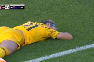 Неймару на заметку: австралийская футболистка показала настоящее мужество после невероятного нокаута от мяча