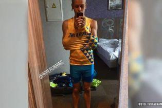 Дискваліфікований за критику форми український легкоатлет записав нове відео
