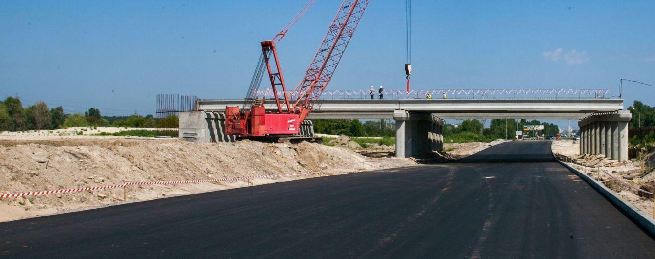Кличко повідомив про результати будівництва Великої окружної дороги