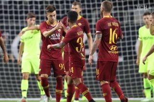 """Рома"""" за 10 хвилин розібралася з """"Барселоною"""" на Міжнародному кубку чемпіонів"""