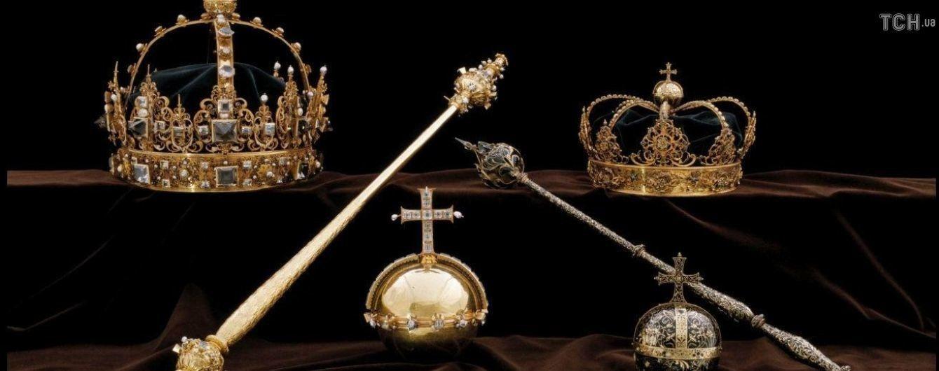 В Швеции украли две королевские короны XVII века