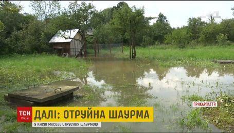 Поврежденные мосты и дороги, затопленные дворы: последствия стихии на Прикарпатье