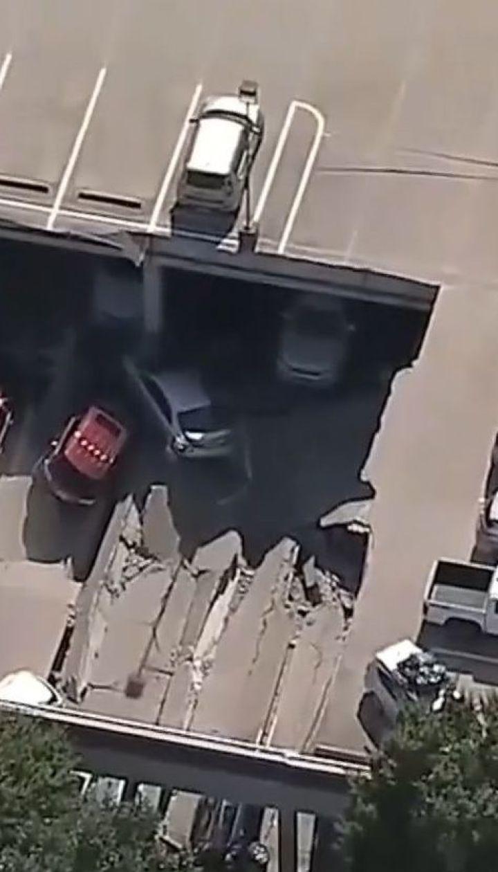 Обвал парковки в американському Далласі: десятки машин опинилися під тонами бетону