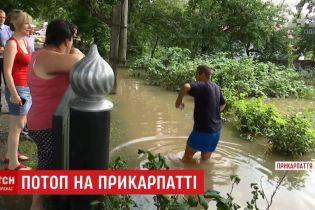 Поселки на Франковщине будут отрезаны от мира еще несколько дней из-за последствий дождя