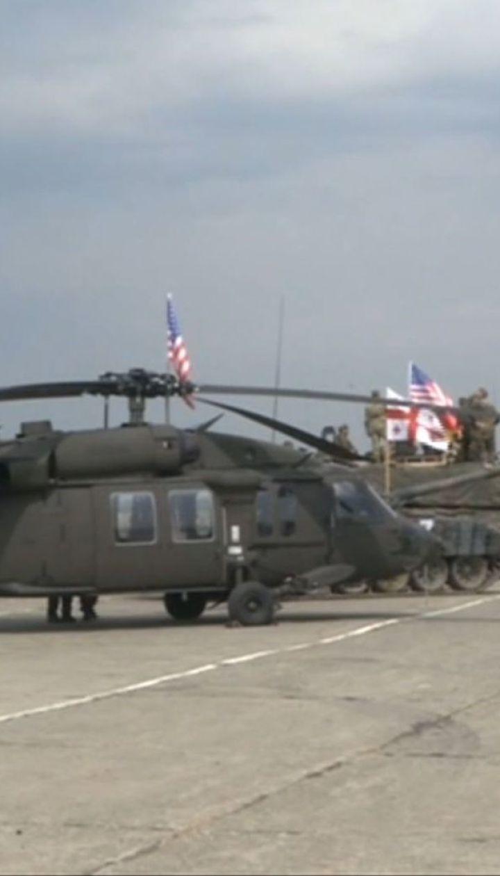 В Грузии стартовали военные учения НАТО