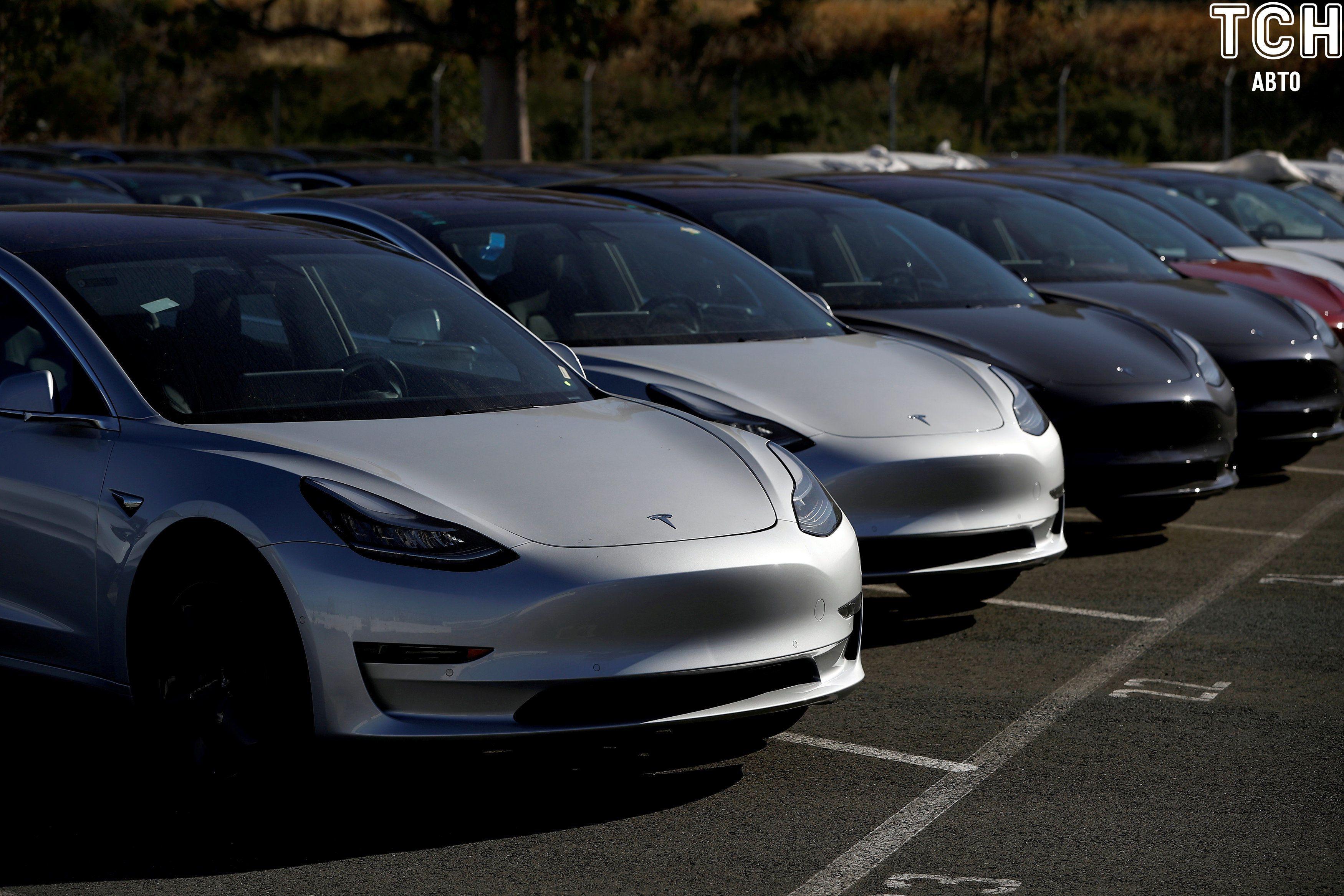 Електрокари Tesla Model 3, электрокары