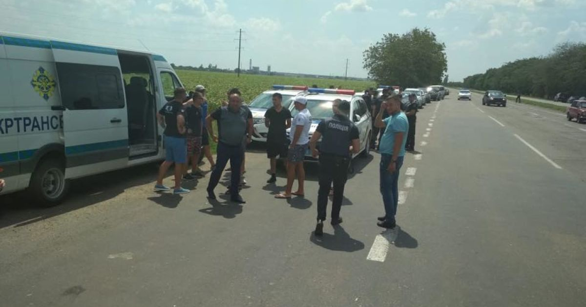 Перегруженные фуры в Николаевской области @ www.facebook.com/Укртрансбезопасность.Николаевская область