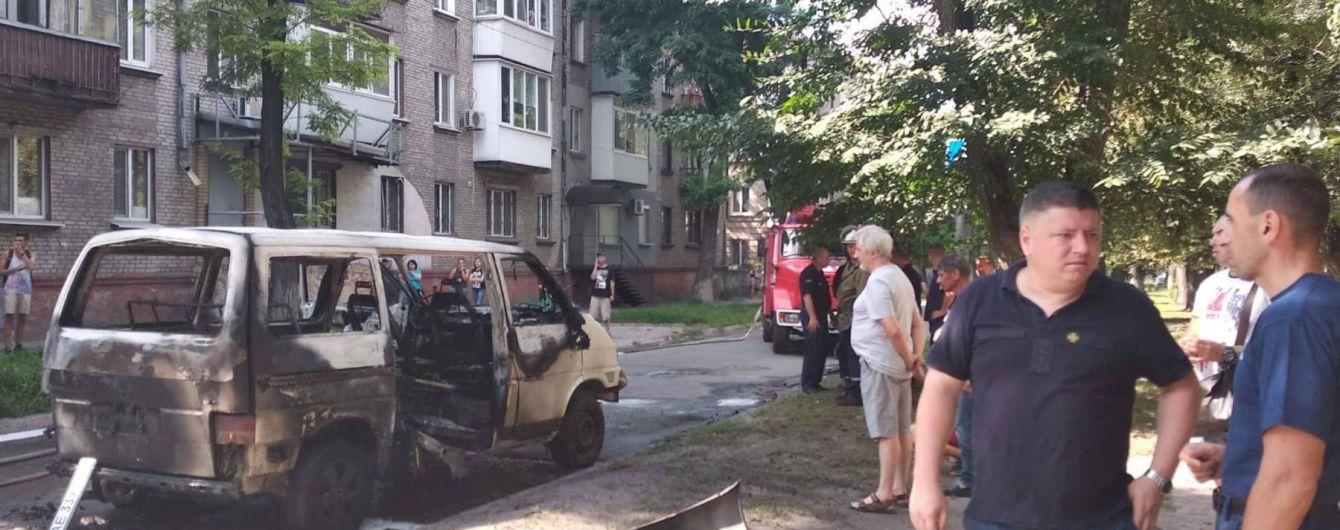 Полиция квалифицировала взрыв машины с депутатом в Каменском, как покушение на убийство