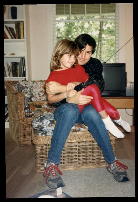 Стів Джобс з донькою Лізою