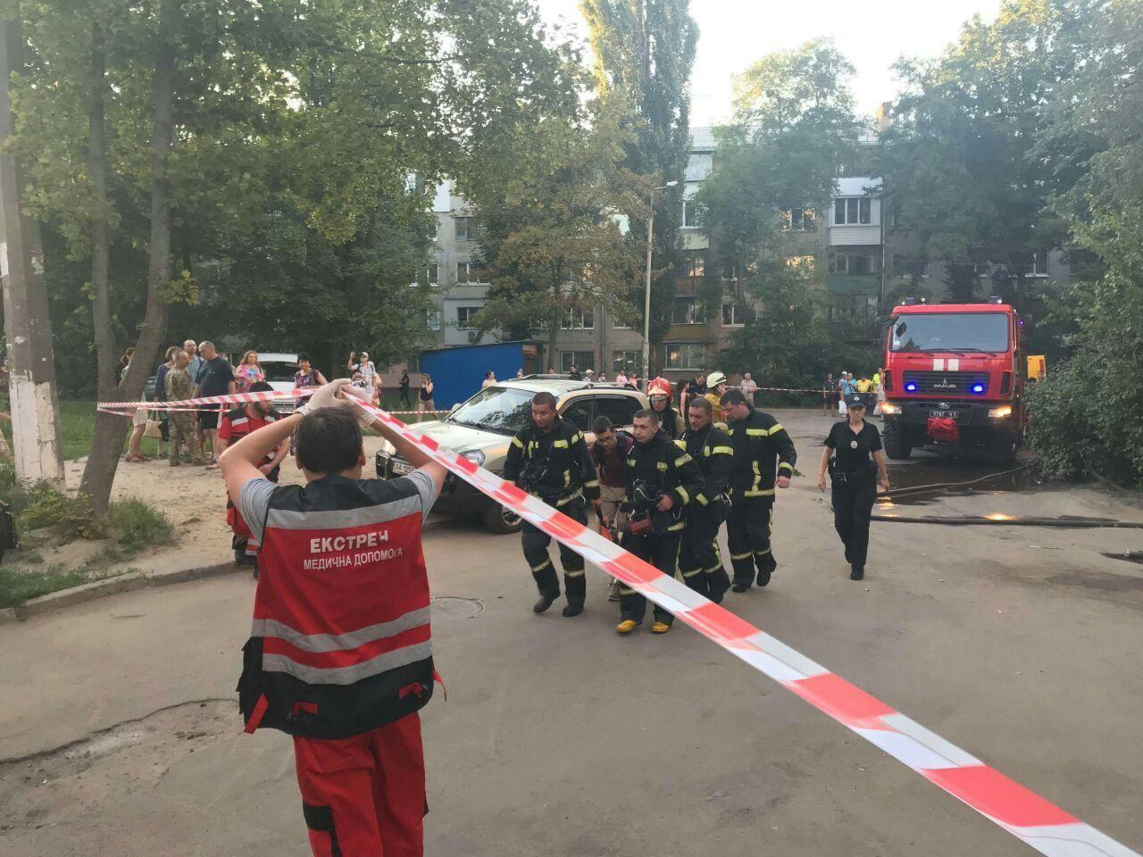 Пожежа у Києві2