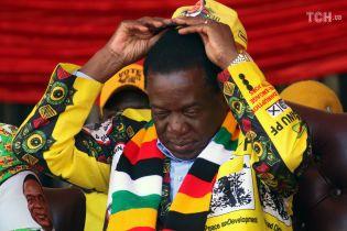 """У Зімбабве президента оголосили переможцем виборів, опозиція називає результати голосування """"фейковими"""""""