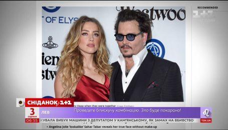 Джонни Депп обвинил бывшую жену Эмбер Херд в избиении