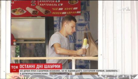 Киоски с шаурмой, которой отравились 70 человек, продавали без разрешения