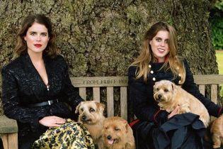 Стильные сестры: принцессы Беатрис и Евгения снялись в фотосете для глянца
