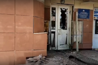 В России подорвали здание городского Пенсионного фонда