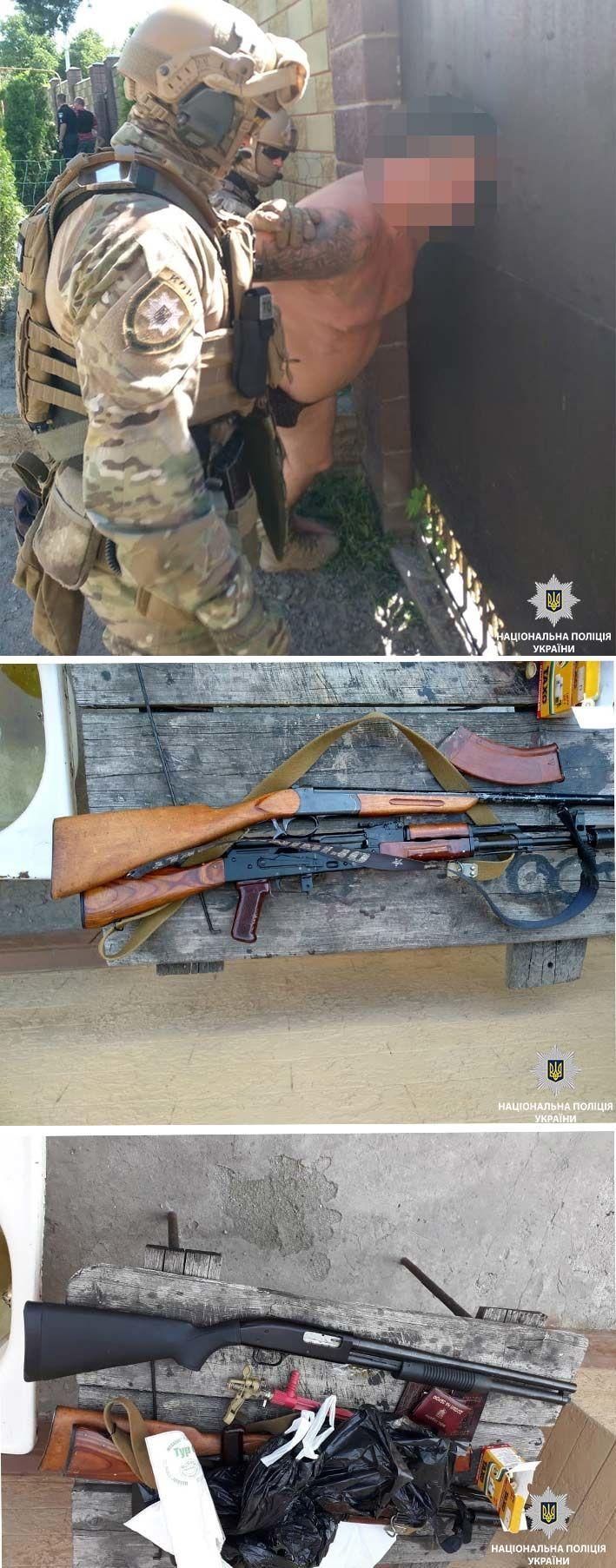 Поліція Дніпра затримала стрільців
