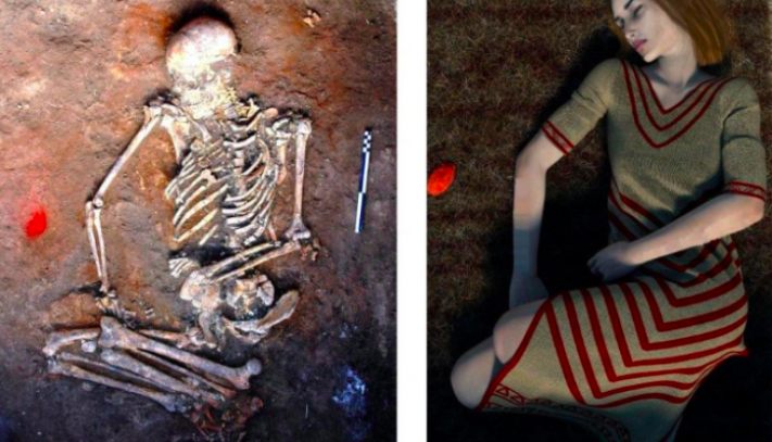 Скелет Польща археологія