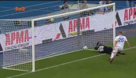 Динамо - Шахтер - 1:0. Видео гола Вербича