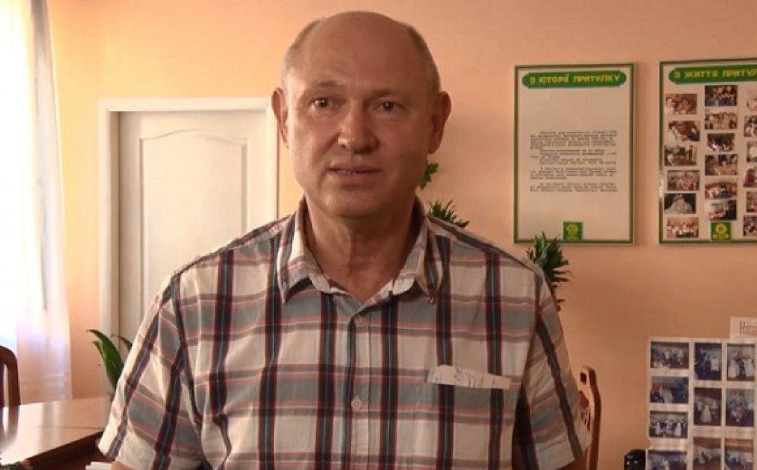 Директор волинського притулку Леонід Матвійчук_1