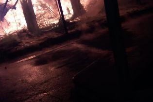 На курорте Николаевщины несколько часов горели торговые павильоны