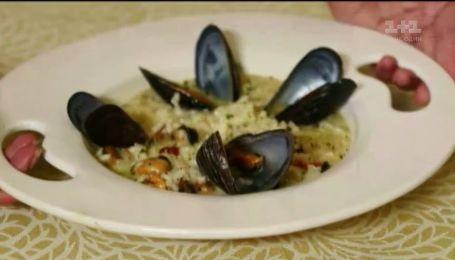 Рецепт італійського різотто з мідіями – секрети приготування